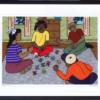 Playing Jacks by Annie Greene